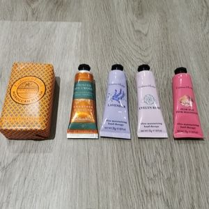 New Crabtree & Evelyn hand reams, soap bar